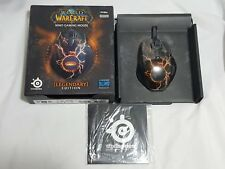 World of Warcraft Legendary Edition MMO Gaming Mouse PC Mac SteelSeries WoW