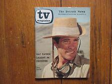 Feb 26-1967 Detroit News TV Mag(RAT PATROL/CHRIS GEORGE/LARRY CASEY/JUSTIN TARR)