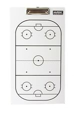 Murray Sporting Goods Dry-Erase Double Sided Hockey Coach Marker Board Clipboard