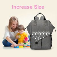 LD_ BABY DIAPER NAPPY MUMMY CHANGING BAG BACKPACK SET MULTI-FUNCTION HOSPITAL