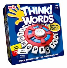 John Adams IDEAL Think Words 2-8 players Age 8+