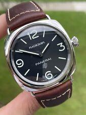 Panerai Radiomir Men's Black Watch - PAM00753 PAM 753 Base Logo 45mm