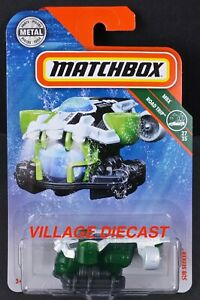 2018 Matchbox #104 Sub Seeker™ WHITE PEARL / MBX USS X5 / MOC
