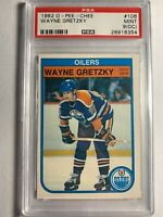 1982 O-Pee-Chee OPC Wayne Gretzky #106 PSA Mint 9 (OC) NHL Oilers - 4th Card!