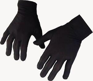 Thin Silk liner inner Gloves Ski  motorcycle skiing walking cycling