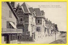 cpa Le TOUQUET PARIS PLAGE (Pas de Calais) Les CHALETS St Joseph Les Mouettes