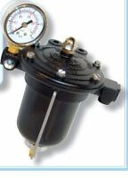 Competition Malpassi Filter King Regulator V8 Carburettor 10mm & GAUGE