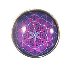 Snap Button Charms Ginger Snaps Buttons Chunk Charm Mandala Purple 4
