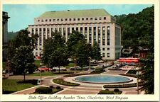 State Office Building Three Charleston West Virginia Vintage Postcard