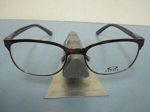 OAKLEY womens DESCENDER blackberry OX3124-0353 RX eyeglass frame NEW in O case