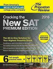 Cracking the New SAT Premium Edition with 6 Practice Tests, 2016: Created for th