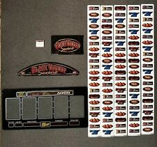 Bally Alpha S9000 Slot Machine BLACK VELVET SEVENS Glass Kit w/ Strips Software