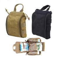 Tactical First Aid Medical Pouch Bag Molle EMT IFAK Emergency Survival Pouch Bag