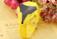 UK SELLER: Yellow Kids Digital LED Wrist Watch For Men & Boys Silicone Strap