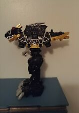 2015 Black Dino Super Charge T Rex Megazord Power Rangers 2015 Bandai Exclusive