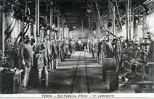 * TERNI : Regia Fabbrica d'Armi - 1° Laboratorio * Periodo Anni 20