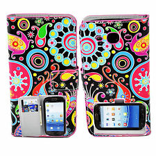Card Holder Stand Flip Leather Cover Case Pouch For Samsung Galaxy S3 III i9300