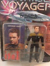 "Josh Clark Autographed New Lt. Carey Star Trek Voyager Playmates 5 "" Figure"
