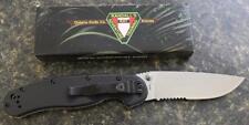 NEW Ontario 8849 Randall's RAT Model 1 Folding Knife AUS8 Satin Blade RAT LOGO!!