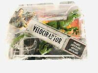 Velociraptor Jurassic World attack Figure Toy Box damaged