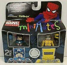 MARVEL MiniMates_CAPTAIN AMERICA and AIM SOLDIER Exclusive figures_Toys R Us_MIB