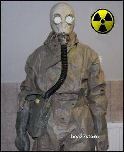 GAS MASK CHERNOBYL NBC HAZMAT SUIT RADIATION CHEMICAL NUCLEAR PROTECTION SET