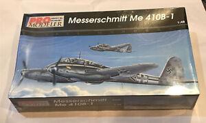 REVELL PRO-MODELER -1/48 MESSERSCHMITT ME 410B-1 #5936 - Sealed