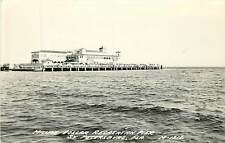 Florida, FL, ST Petersburg, Million Dollard Recreation Pier Real Photo Postcard