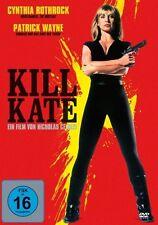 CYNTHIA/WAYNE,PATRICK ROTHROCK - KILL KATE  DVD NEU