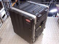 12u SKB Wheeled Flight Case 19 inch Rack