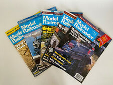Model Railroader Magazine Lot of 5- Mixed Months 1997 (4 issue), 1998 (1 issue)