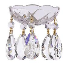 Chandelier crystal bobeche ebay 1 pc crystal chandelier bobeche 30 lead chandelier parts wgold pin mozeypictures Gallery