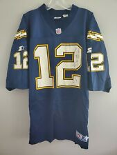 Rare VTG 90s Starter NFL San Diego Chargers Stan Humphries 12 Jersey Mens 52 XL