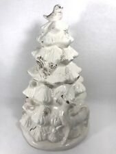 frosted woods cookie jar christmas tree woodland 12 holiday cracker barrel