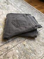 J Brand Womens Sz 27 Gray Low Rise Skinny Stretch Denim Jeans - Retail $180+!