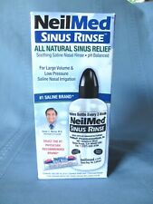NeilMed Sinus Rinse Starter Kit  1 Squeeze Bottle and 1 Premixed Packet