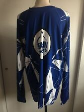 Jakroo Cycling Shirt Blue And White xL Long Sleeve.