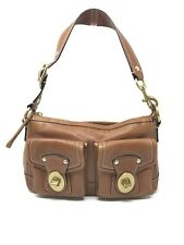 Coach Brown Leather Legacy Shoulder Bag G0882-F12868 Gold Hardware e54a9cbe620bb