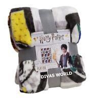 Harry Potter Fleece Blanket Soft Bed Throw 100 x 150cm Home Bedroom Xmas Gift