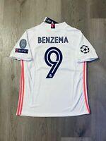 Real Madrid KARIM BENZEMA 9# Jersey 20/21 Amazing High Quality NEW Size XL