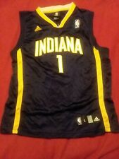 Youth Adidas NBA Indiana Pacers Stephen Jackson #1 Jersey Sz Large (14-16)