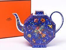 Hermes Porcelain Teapot Pivoines Dinnerware Pink Floral Flower Ornament New Rare