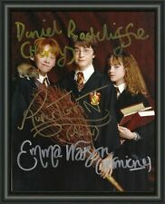 HARRY POTTER - CAST - SIGNED A4 PHOTO POSTER  FREE POST