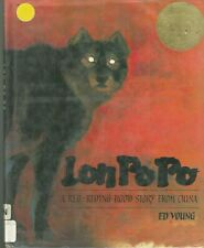 Lon Po Po: A Red Riding Hood Story from China- Ed Young-1989- ex-lib- HB w/DJ