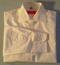 ETERNA Hemd Excellent redline Langarm KW 38 Gr. M weiß unifarben BW 52 cm (OS26)