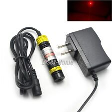 650nm 250mW Red Focusable Dot Mitsubishi Diode Laser Module +5V Adapter Power