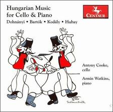 Hungarian Music for Cello & Piano, New Music