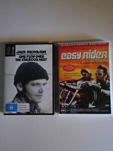 One Flew Over The Cuckoos Nest & Easy Rider DVD's
