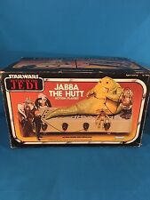 Vintage Star Wars Jabba The Hutt Playset Sealed ROTJ 1983 Kenner New