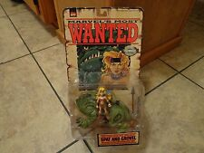 1998 TOY BIZ--MARVEL'S MOST WANTED--SPAT AND GROVEL FIGURES (NEW)